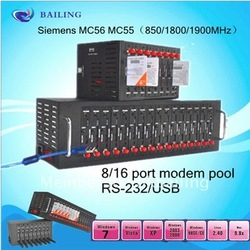 New sale! free+fast shipping!!16 ports MC55 module bulk sms modem pool/gprs+tcp/IP(China (Mainland))