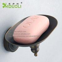 Xiduoli Free shipping Archaize Bathroom Metal Soap Dish XDL-12609