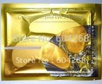 Free shipping  Gold Eye Mask Crystal Eyelid Patch/Crystal collagen eye mask 500PRS/LOT