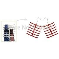 Multifunctional  velvet flocked non-slip ties &scarves & belts and towels hanger