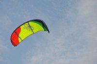 ZERO 12sqm kitesurfing with one pump system+kite bar+4x25m 500lbs dyneema line +leash+repair patch