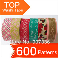 600 patterns Washi Tape,Ship Free,colorful printing washi tape,printing washi tape,hot in market,accept mix,washi tape, lovely!