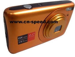 Low Price Digital Camera with 8x Digital Zoom 2.7-Inch LCD(China (Mainland))