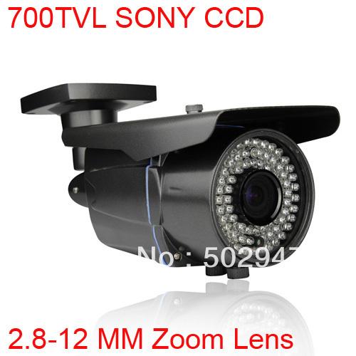 78 ir de seguridad de vigilancia de circuito cerrado de televisión al aire libre la cámara 700 tvl effio- e sony exview ccd lente 2.8-12mm