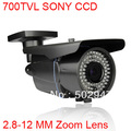 78 IR Security Surveillance Outdoor CCTV Camera 700TVL EFFIO-E SONY Exview CCD 2.8-12mm Lens