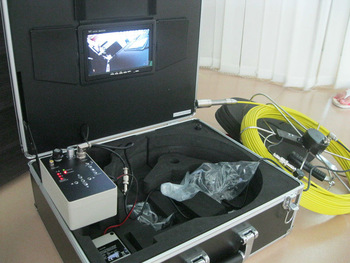 Underwater Pipe Inspection Camera with 30m cable TEC-Z710DM