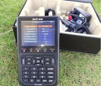 """3.5"""" LCD Handheld satlink ws-6908 DVB-S FTA Data digital satellite finder sat-link ws6908 Signal Finder Meter satfinder LCD"""