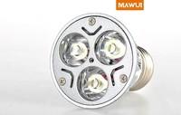 10pcs/lot, 3W GU5.3 MR16 12V LED Spot light