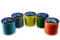 Free Shipping 300M PE BRAID FISHING LINE Dyneema fishing A lines All models yellow all models braided fishing line 300m