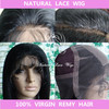 Stock Indian virgin hair full lace wigs with silk top, silk top human hair wigs.
