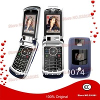100% Original V3X Mobile Phone 3G Unlocked Dual Camera Cell Phone With Russian Keyboard Free Shipping