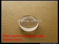 Acrylic High Definition Plastic box 16mm  Direct Fit Holders 1000 pcs/lot