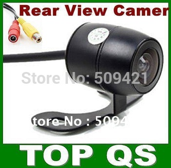 Wholesales, 420 lines 170 super wide view angle waterproof Car/Auto Rear View Reverse Backup License Plate Camera, free shipping