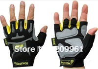 KHuiten high quality Cycling driving half finger gloves multifunction Durable Non-slip free shipping