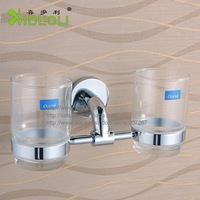 Xiduoli Free shipping Brass Bathroom Sets Double Cup Holder XDL-15855
