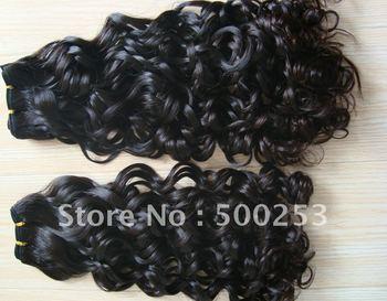Lastest Fashion Funmi Curl Natural Color Malaysian Human Hair Extension