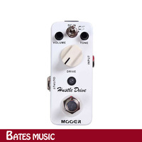 Free shipping!NEW Effect Pedal /MOOER Hustle Drive Distortion Pedal True bypass Excellent sound