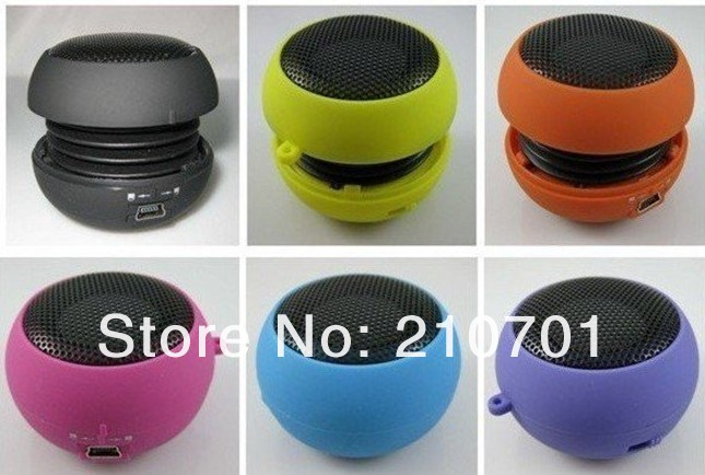 Free Shipping 5pcs/lot USB Mp3 speaker Stereo Mini Speaker Music MP3 Player Amplifier loudspeaker for iPhone Laptop Notebook(China (Mainland))