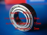 deep groove ball bearing  696zz    6mm*15mm*5mm  For measurement of bearing