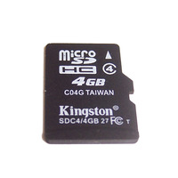10 pcs/lot OEM 4 GB Micro SD TF Card with adapter having authentic memory capacity
