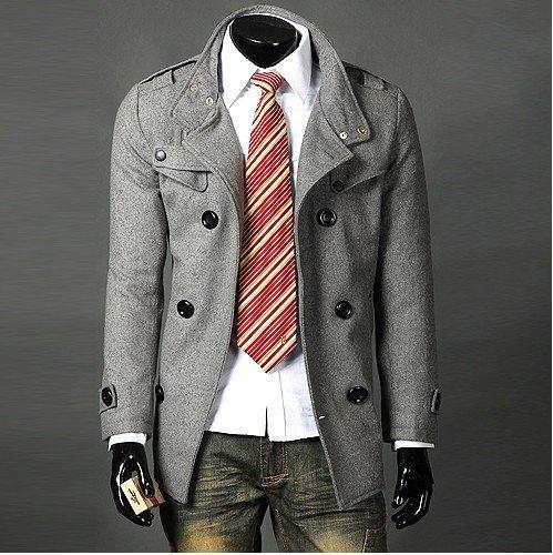 Thiết kế sang trọng cho áo khoác nam cao cấp