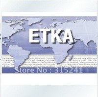Latest spare parts catalogue for Audi VW Skoda Seat ETKA 7.3 -R