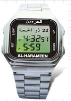 Brand new  hot sales high high quality muslim prayer Azan watch clock