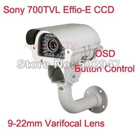 CCTV 700TVL EFFIO-E 1/3&quot; Sony Exview CCD IR D/N Security Camera Varifocal 9-22mm AR-VW35G9