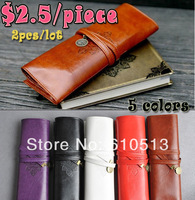 5 colors  Vintage Cosmetic Make up bag/Pencil Case Chennai retro cortex Twilight bulk pen bag,PENCIL CASE 2pcs/lot Free shipping
