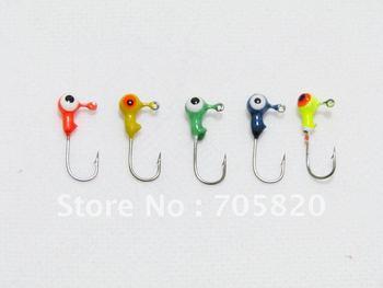 New arrival,High quality 1G lead jig head fish hooks, fishing hook,FISHING LURES HOOK,100pcs/lot,china post freeshipping