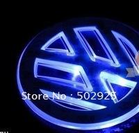Free Shipping     Car Emblem Badges for  tiguan polo jetta golf passat  Santana touran new Fashion Shiny LED wholesale & retail