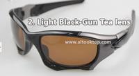 Free shipping 8colors sport eyeglasses Pitboss Polarized sunglasses oculos de sol gafas men's sun glasses anteojos pit boss II