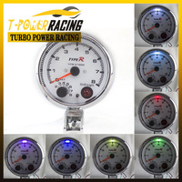 "3 3/4""  tachometer with 7 colors led 0-8000RPM  /auto meter/auto gauge/Tachometer/Car meter"
