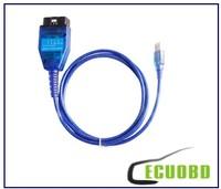 Wholesale - Newest version vag 409 VAG KKL USB+Fiat Ecu Scan diagnostic interface tool vag 409+ fiat ecu scan
