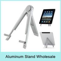 Wholesale X50 Aluminum Stand Holder Adjustable For 7-15 inch Mobile Phone Desktop Tablet PC Notebook Portable Foldable Via DHL