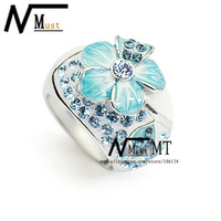 MT JEWELRY Top Quality Hot Sales Enamel Jewelry Flower Ring Fashion Latest Ring