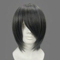 Sebastian dark gray butler ciel phantomhive dark gray straight cosplay wig party wig anime wig