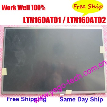 "Free Shipping, Grade A, LTN160AT01 LTN160AT02 Laptop Screen, 16"" LCD Display For HP, ACER, TOSHIBA, Asus Notebook"