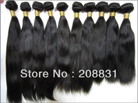 Queen Hair Product,Unprocessed Peruvian Virgin Hair Silky Straight  5A Grade Cheap Human Hair Extension 3 pcs lot Free Shipping