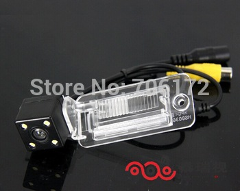 4 led Special Car Rear View Reverse backup Camera rearview parking for AUDI A3 A4 A5 A6 A6L A8 Q7 S4 RS4 S5 S6 RS6