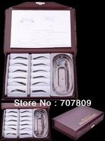 Free shipping  1set 12 types Perfect eyebrow Stencil Kit-designing eyebrow tool