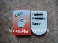 Portable LED Tester,LED Tester Box for Dip LED, Super Flux LED, Tool,take with easy