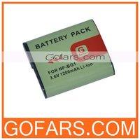 1200mah NP-BG1 Battery for Sony CyberShot DSC-H55 H50 W150 W170 W210 W220 W290,100pcs/Lot,High Quality,Free Shipping