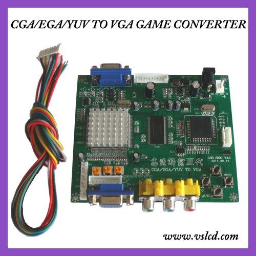 CGA,EGA,RGB TO VGA VIDEO GAME CONVERTER GBS8200(China (Mainland))
