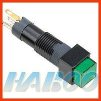 8mm 1NO+1NC reset illuminated 6v,12v,24v mini push button switch