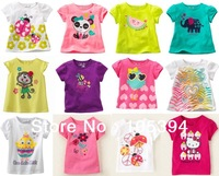 jumping beans girls t-shirt KIDS t shirt cotton sweatshirt kid tops children clothes Free shipping