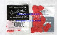 72 piece Guitar Picks Jazz III picks RED Guitar Picks TOP SELLER freecase from china free shipping