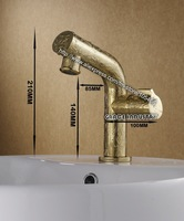 gold color polished faucet,gold color  faucet,new design,luxury faucet, gold pattern faucet,promotion