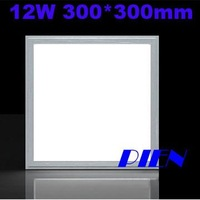CE&ROHS 12W 3014 SMD 300 x 300 mm LED Panel light Ceiling Lamp 85~265V +LED Driver +Retail Packing by Express 10pcs/lot