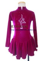 BOART hot sales Ice Skating Dress Beautiful Figure New Brand Ice training Dress Competition customize 2279